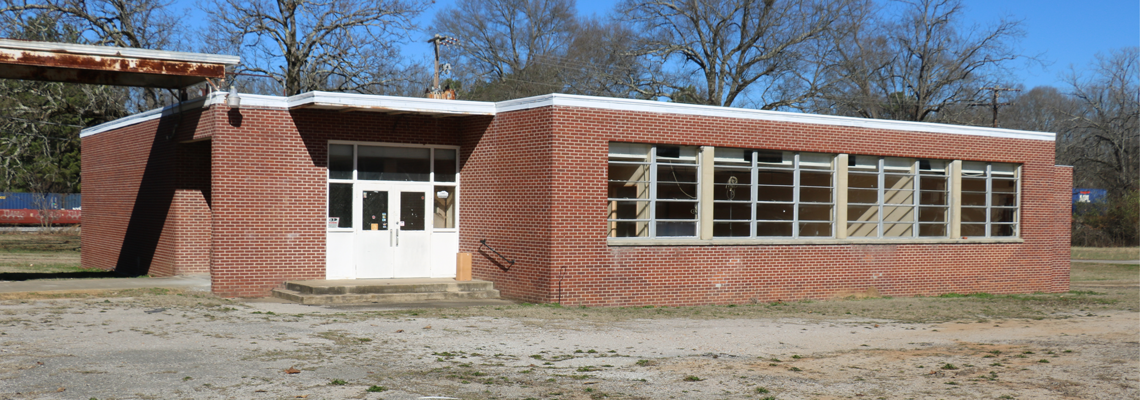 The old Grand Junction High School cafeteria will be the future home of the Bobby Martindale Memorial Library.