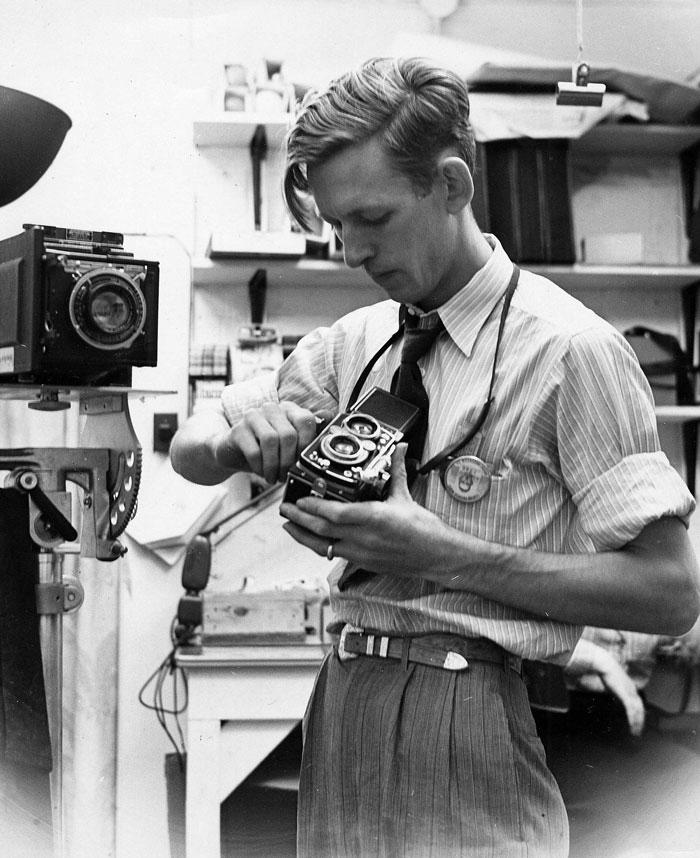 Ed Westcott Loading Film