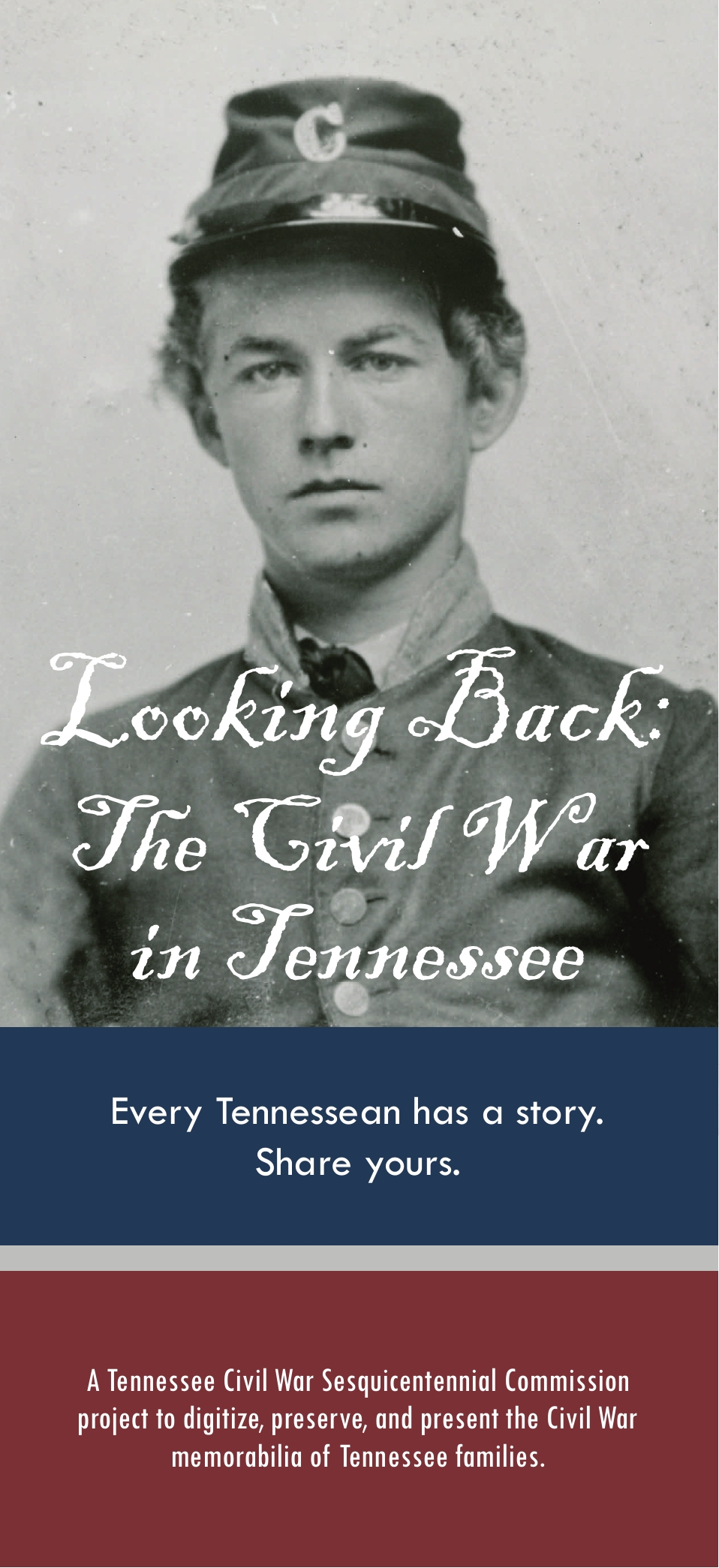 banner logo for Looking Back: The Civil War in Tennessee