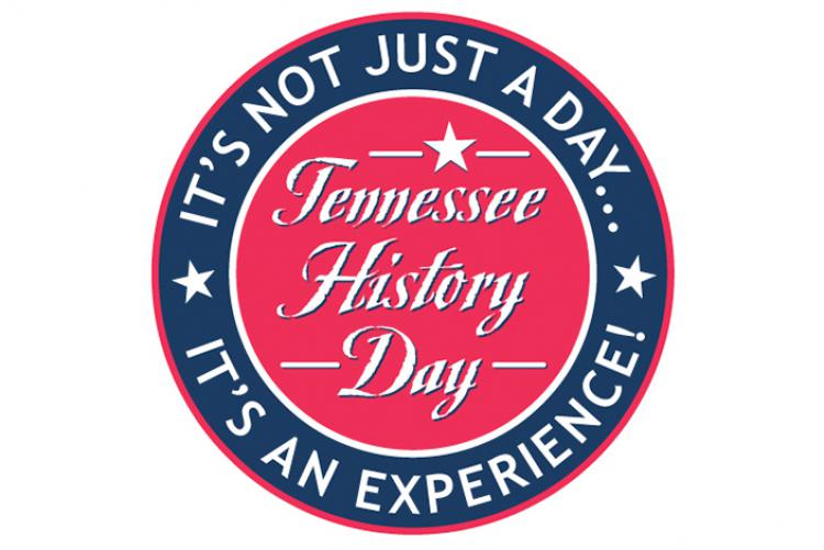 "Logo that says ""Tennessee History Day. It's not just a day... It's an experience!"""