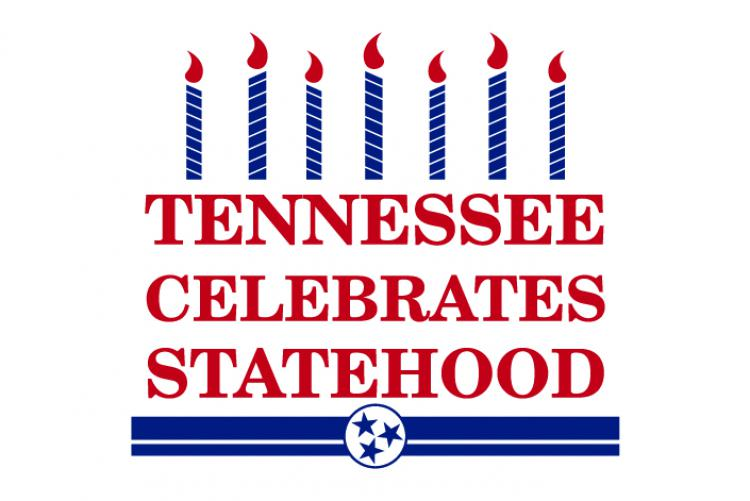 Graphic that says Tennesee Celebrates Statehood