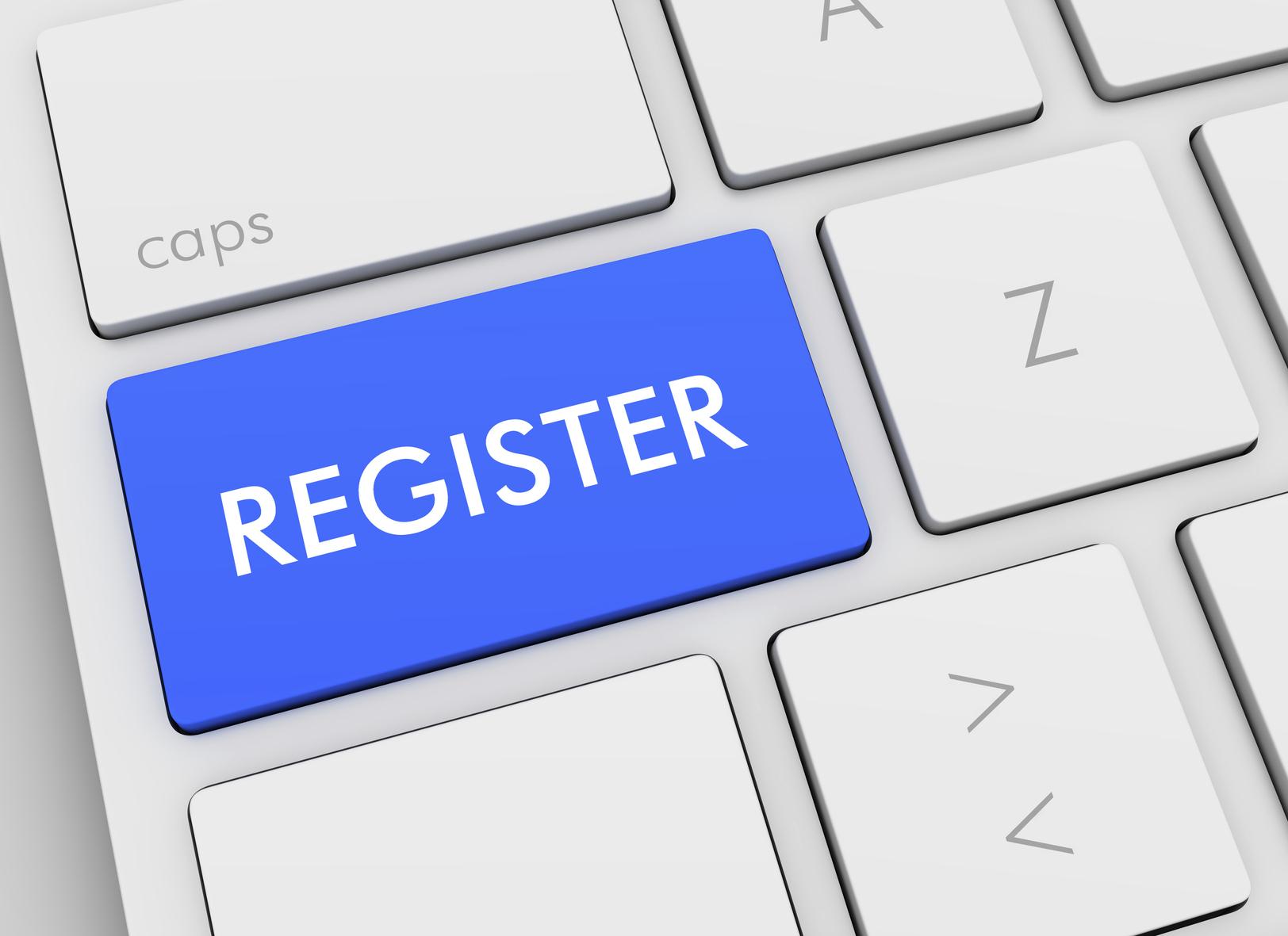 Charitable Organization Online Registration