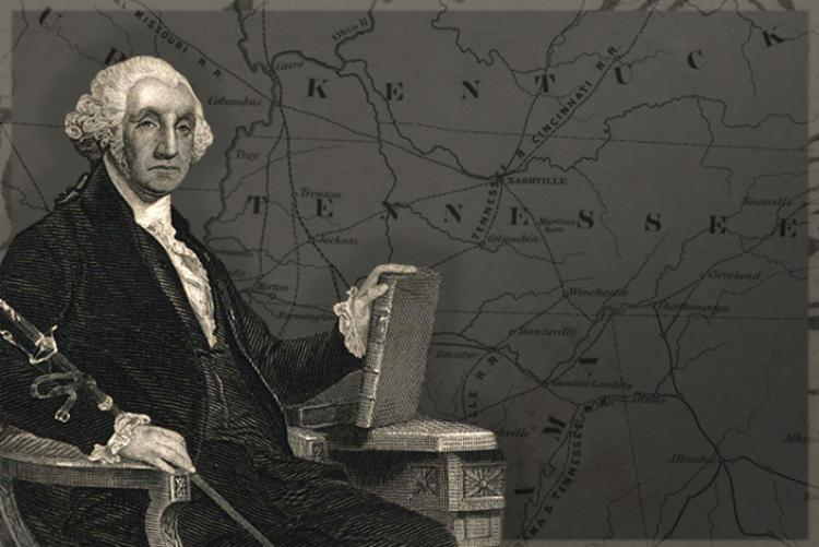 George Washington, first President of the United States (Courtesy: Tennessee State Library and Archives)