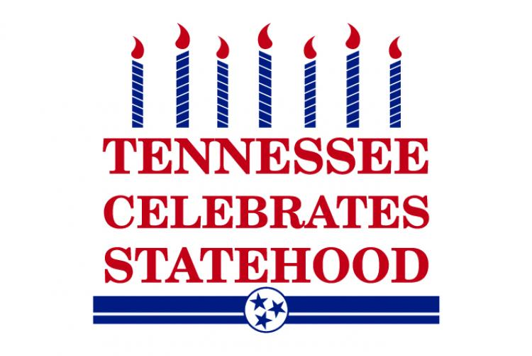 Logo that says Tennessee Celebrates Statehood
