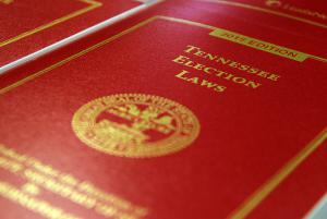 2015 Edition Tennessee Election Laws book